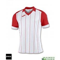 JOMA Camiseta GRADA Futbol BLANCO - ROJO 100680.206 equipacion