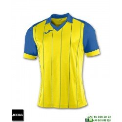 JOMA Camiseta GRADA Futbol AMARILLO - AZUL ROYAL 100680.907 equipacion
