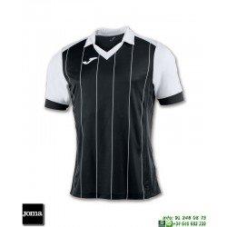 JOMA Camiseta GRADA Futbol NEGRO - BLANCO 100680.102 equipacion