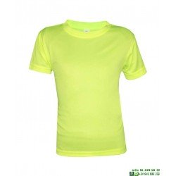 Camiseta TECNICA Niños Softee SOLANUM Economica color deporte