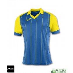 JOMA Camiseta GRADA Futbol AZUL ROYAL - AMARILLO 100680.709 equipacion