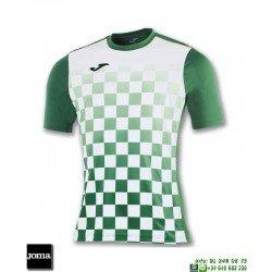JOMA Camiseta FLAG Futbol VERDE - BLANCO 100682.452 equipacion