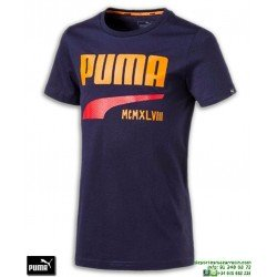 Camiseta Puma STYLE GRAPHIC TEE Junior Azul Marino 590687-06