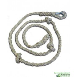 Cuerda para Trepar Con nudos 4 Metros softee