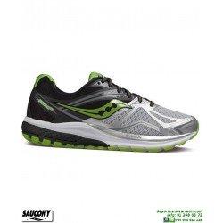 Saucony RIDE 9 Zapatilla Running Neutra Gris-Negro S20318-6 hombre