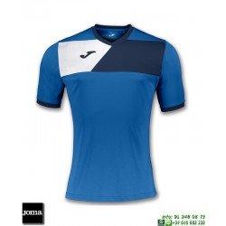 JOMA Camiseta CREW II Futbol AZUL ROYAL 100611.703 equipacion