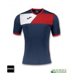 JOMA Camiseta CREW II Futbol AZUL MARINO 100611.306 equipacion