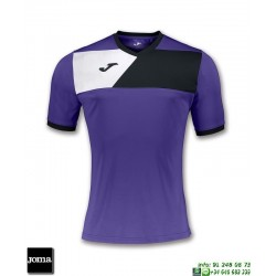 JOMA Camiseta CREW II Futbol MORADO 100611.551 equipacion