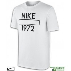 Camiseta NIKE M NSW TEE ATHL DEPT 847612-100 Blanco Algodon Hombre