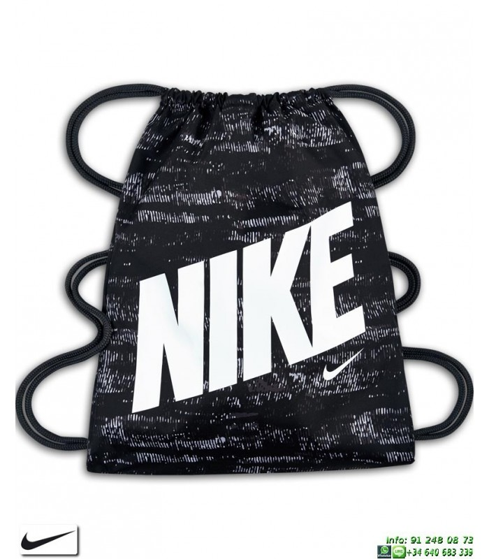 Ya Ba5262 Gimnasio 013 Graphic Gymsack Bolsa Nike Saco Negro xQrdtshC