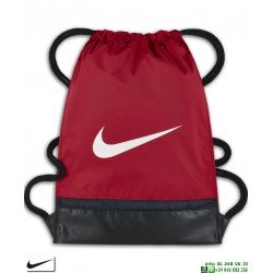 Bolsa Gimnasio Nike NK BRASILIA Gymsack Rojo BA5338-657 saco