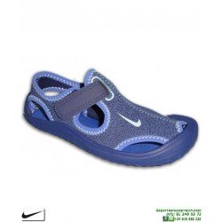 Sandalia Nike SUNRAY PROTECT PS Niño azul 903631-400 chancla
