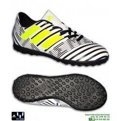Adidas MESSI 17.4 Niños Blanco-Negro Zapatilla Futbol Multitaco S82468