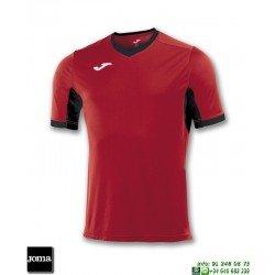 JOMA Camiseta CHAMPION IV Futbol ROJO - NEGRO 100683.601