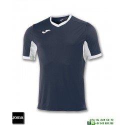 JOMA Camiseta CHAMPION IV Futbol AZUL MARINO - BLANZO 100683.302