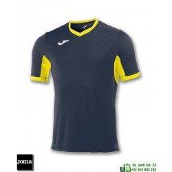 JOMA Camiseta CHAMPION IV Futbol AZUL MARINO - AMARILLO 100683.309