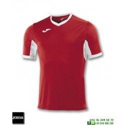 JOMA Camiseta CHAMPION IV Futbol ROJO - BLANCO 100683.602