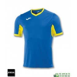 JOMA Camiseta CHAMPION IV Futbol AZUL ROYAL - AMARILLO 100683.709