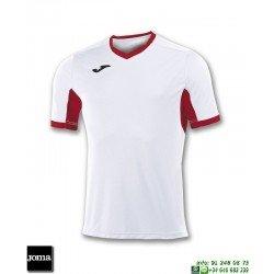 JOMA Camiseta CHAMPION IV Futbol BLANCO -ROJO 100683.206