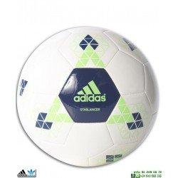 Balon de Futbol ADIDAS STARLANCER V Blanco-Marino