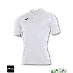 JOMA Camiseta TOLETUM Futbol BLANCO 100653.200 equipacion dry mx