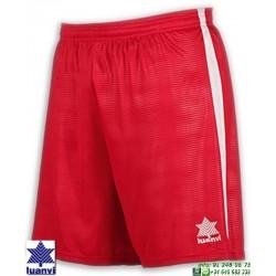 LUANVI Pantalon Corto CAMU Futbol ROJO 08480-0022 short equipacion
