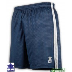 LUANVI Pantalon Corto CAMU Futbol AZUL MARINO 08480-0133 short