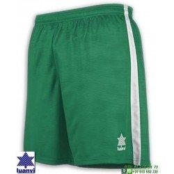 LUANVI Pantalon Corto CAMU Futbol VERDE 08480-0055 short equipacion