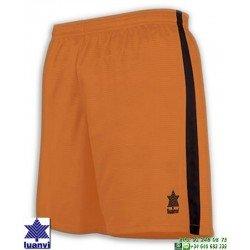 LUANVI Pantalon Corto CAMU Futbol NARANJA 08480-0100 short equipacion