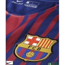 Camiseta FC BARCELONA 2017-2018 Niños Azulgrana Nike Oficial