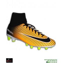 Nike MERCURIAL VICTORY 6 Calcetin Naranja Bota Futbol AG-PRO fe9339d05fcce