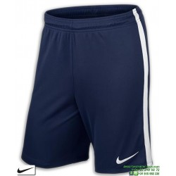 Pantalon Corto Niño NIKE League Knit Short Kids Azul Marino 725990-410 junior
