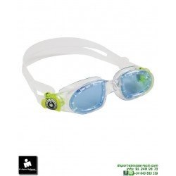Gafa Natación Aqua Sphere MOBY KID Junior Clear-Azul EP127115