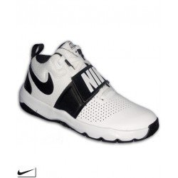 NIKE TEAM HUSTLE D 8 Bota Baloncesto Junior Blanco 881941-100
