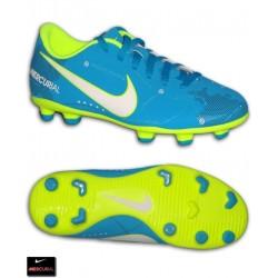 Nike MERCURIAL NEYMAR Niño Naranja Bota Futbol Tacos Vortex 3 FG 921490-400