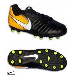 Nike TIEMPO RIO 4 Niño Negro Bota Fútbol Tacos FG-R 897731-008 sergio ramos pique