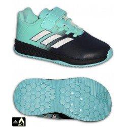 Adidas ACE Infantil RAPIDA TURF EL Celeste VELCRO Zapatilla Futbol