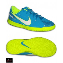 Nike MERCURIAL NEYMAR Niño Azul Zapatilla Futbol Sala vortex 3 PSG 921495-400