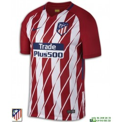 Camiseta ATLETICO MADRID 2017-2018 Rojiblanca Oficial Nike 847291-612