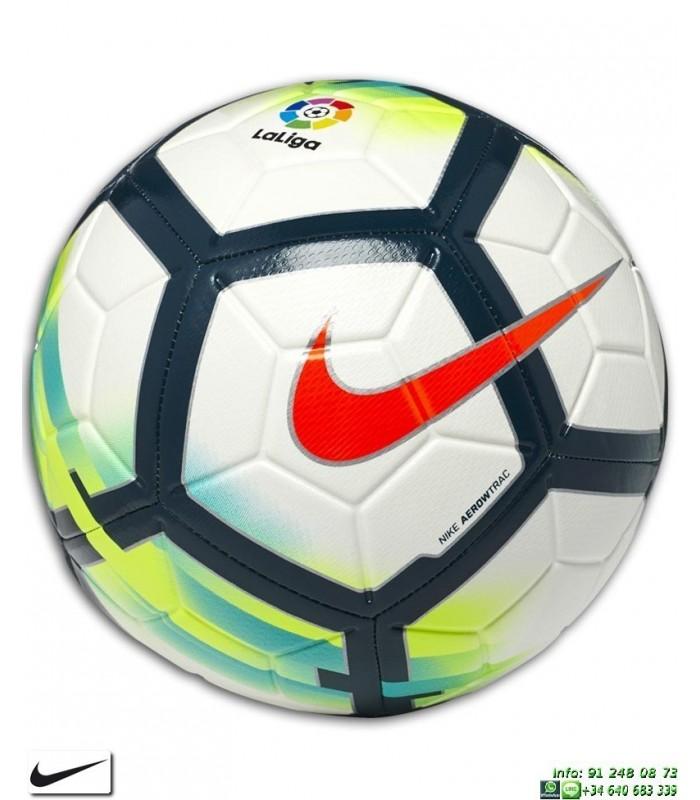 952d7664e0 Balon de la Liga 2017-2018 Nike STRIKE SC3151-100 blanco LFP futbol  PERSONALIZAR