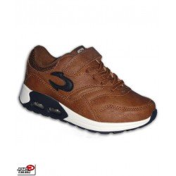 Zapatilla Camara Aire John Smith Smith ROJIN marron air max velcro