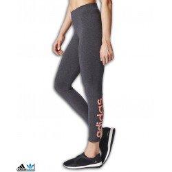 Malla Adidas Mujer ESS LIN TIGHT Antracita-Rosa BR2523
