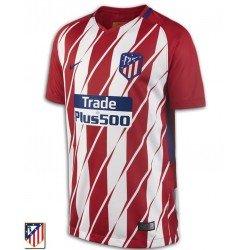 Camiseta ATLETICO DE MADRID 2017-2018 Rojiblanca 1ºEquipacion Niño Nike