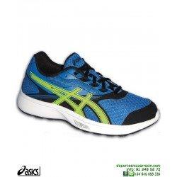 Zapatilla Running Junior ASICS STORMER GS Azul C724N-4507 deporte personalizar