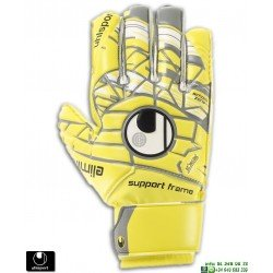 Guante Portero UHLSPORT ELIMINATOR SOFT SF JUNIOR Proteccion dedos 101102901