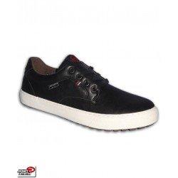 Sneakers John Smith ULVER Negro Hombre piel negro chico