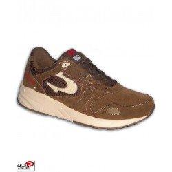 Sneakers John Smith VENOM Marron Hombre piel Vuelta chico