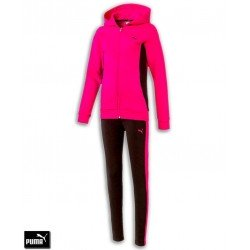 Chandal Chica PUMA SWEAT SUIT Leggins Rosa algodon 593340-28 Girl