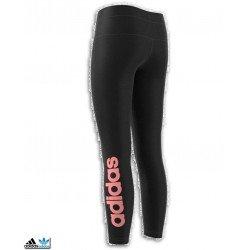 Malla Larga Chica Adidas YG LINEAR TIGHT Negro-Rosa CF1706 junior