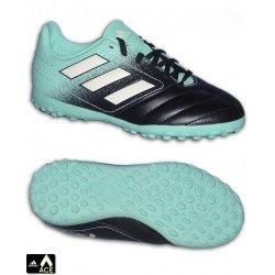Adidas ACE 17.4 Niño Marino Celeste Zapatilla futbol Microtaco TURF S77121